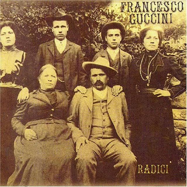 copertina album Radici di Francesco Guccini