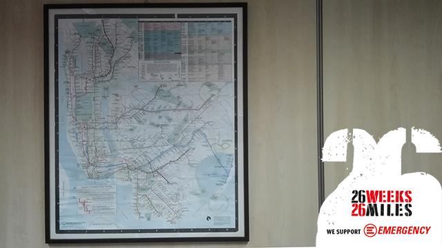New York mappa