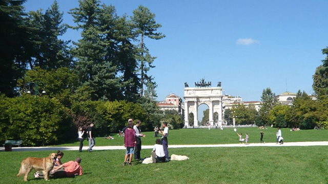 arco pace parco sempione