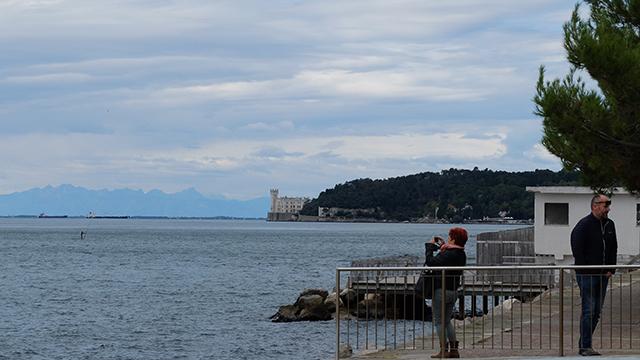 lungomare Barcola a Trieste
